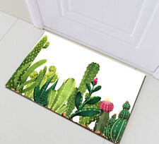 "24x16""Cactus Bathmat Bedroom Floor Rug Kitchen Carpet Door Mat Non-Slip Bath Mat"