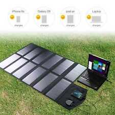 Portable Folding Solar Panel 18V 80W Power Pank Battery Charger for Phone Laptop