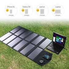Portable Folding Solar Panel 18V 80W Power Pank Battery Charger for Phone Laptop