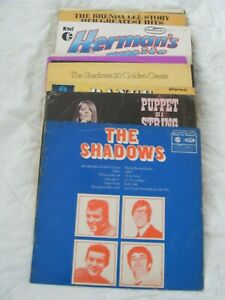JOB LOT OF 20  POP & POP ROCK  ALBUMS..... 1960s.....ALL LISTED