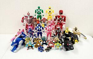 Mighty Morphin Power Rangers Figure Lot Of 34