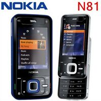 "Original 2.4"" Nokia N81 Unlocked 3G GSM WIFI 2MP FM Mobile Phone Free Shiping"