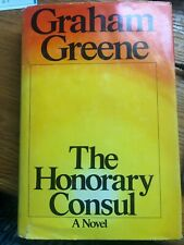 Warren Zevon Library: The Honorary Consul by Graham Greene (1973, Hardcover)