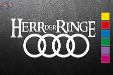 Auto Aufkleber Herr der Ringe - Audi - Sticker 34 x 15 cm (119)