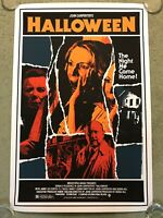 Halloween Michael Myers Horror Art Print Poster Mondo Movie James Rheem Davis