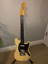 Squier Fender Vintage Modified Mustang Guitar - Vintage White - Pro Set Up 2012