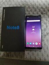 Samsung Galaxy Note8 SM-N950 - 64GB - Midnight Black
