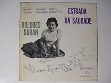 DOLORES DURAN - ESTRADA DA SAUDADE LP MONO 1960 BRAZIL SAMBA BOSSA FEMALE VOCAL