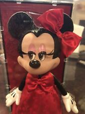 2017 D23 Expo Disney Store Exclusive Minnie Mouse Signature Doll Red Dress LE523