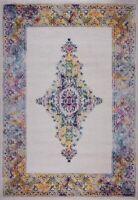 Saba Traditional Border Style Indoor Area Rug Carpet in Multicolor BAN1343