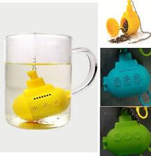Chic Silicone Submarine Tea Infuser, Loose Tea Leaf Strainer Filter, Diffuser
