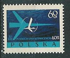 Poland stamps MNH (Mi. 1115) 30 years LOT, aviation