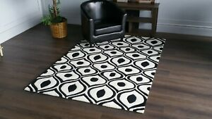 """Area Rugs Carpet Sale New, Hand Tufted 5'.0"""" X 7'.6"""" Ivory"""