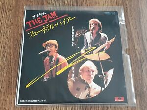 """THE JAM - FUNERAL PYRE 7"""" 1981 JAPAN POLYDOR EX+"""