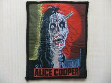 Aufnäher - Patch - Alice Cooper - Trash - Kiss - UFO - Aerosmith - Dio - 80´s