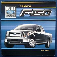 Prospekt brochure new 2009 Ford F-150 Pickup (USA) INTRO