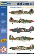 Vital Storm part 2: Early RAF Hurricanes – 1/24 scale Nicolson VC update only