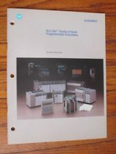 Allen Bradley 1747-2.30 Slc500 Programmable Controller System Overview Manual