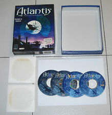 Gioco Pc Cd ATLANTIS Segreti d'un mondo perduto - BOX ITA 1997