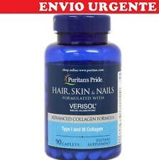 BPR106- VERISOL fórmula  COLAGENO PIEL PELO y UÑAS 90cps Puritans ENVIO24h