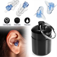Noise Cancelling Reduce Ear Plugs Hearing Protection Sleeping For Music Concert