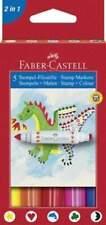 Faber-Castell Stempel-Filzstifte, 5 Stück