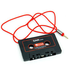 3.5mm Jack Hot Car Audio Tape Cassette Adapter AUX For Mp3 CD Radio Converter
