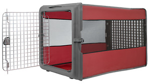 Large Dog Crate. Collapsible Pop Open Kennel Travel Lightweight Durable Design
