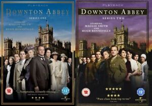 Downtown Abbey Series 1 & 2 [DVD] UK Series+Bonus Features Gift