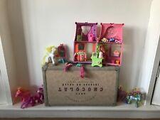 2002 Pony Imán activado belleza My Little Fashion Shop 6 ponis Paquete
