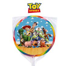 24 Disney Toy Story 3 Movie Kids Stickers Round Labels Bag Lollipop Party Favor