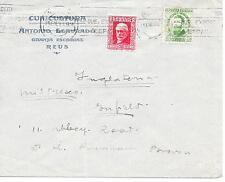 España 1930s al Dr. Runham-marrón, escritor pacifistas, guerra refractarios a Int, Joaquin Costa