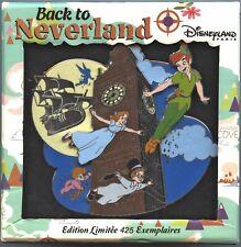 Disneyland Paris - Pte - Back to Neverland - Jumbo Big Ben Pin (Peter Pan)