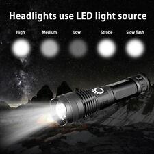 Super hell 90000lm Taschenlampe LED taktisches Arbeitslicht wiederaufladbare USB