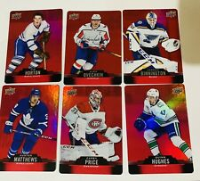 2020-21 TIM HORTONS RED PARALLEL DC 1-50 YOU PICK TO COMPLETE