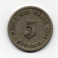 Germany - Duitsland - 5 Pfennig 1893 D