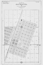 1911 Map of Maxville Florida Jacksonville