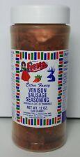 Bolner's Fiesta Venison Deer Sausage Seasoning 12 Oz New