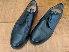 German Solidus Business Comfort  black leather men's dress  shoes size 9.5