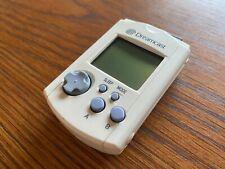 Sega Dreamcast Visual Memory Unit VMU Memory Card HKT-7000 White Used Japan