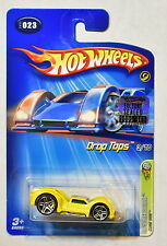 HOT WHEELS 2005 CURB SIDE DROP TOPS 3/10 #023 YELLOW FACTORY SEALED
