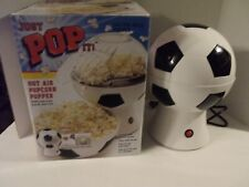 Just Pop It Soccer Ball Popcorn Maker Popper