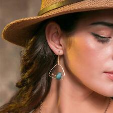 Fashion Natural Stone Women Earrings Geometric Simple Drop Earrings Jewelry