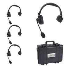 CAME-TV WAERO Duplex Digital Wireless  Communicator Headsets 4KIT with Case -EU