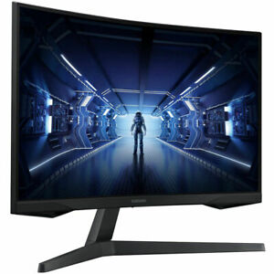 "NEW Samsung Odyssey G5 27"" 2560x1440 Curved 144Hz 1msResponseTime Gaming Monitor"