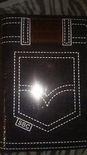 Biblia Letra Grande Tamaño Manual Tela Jean Azul con Cierre e Index RVR1960