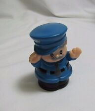 Fisher Price Little People GREY-HAIRED MAN BUS DRIVER for Town Village Worker