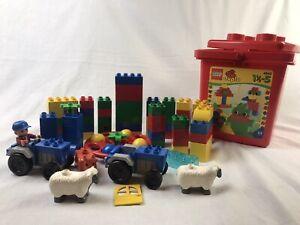 Lego Duplo 4845 Tub & 80 Pcs