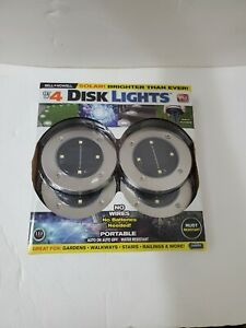 Bell and Howell 1998 Solar-Powered LED Disk Light