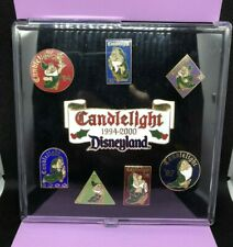Disneyland Snow White and the Seven Dwarfs Candlelight 1994-2000 Cast 8-Pin Set